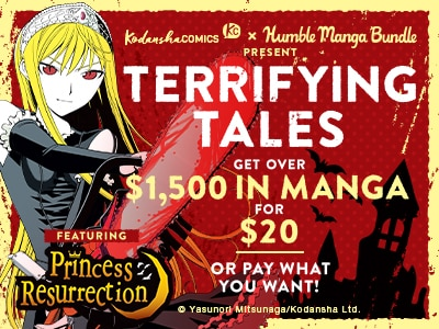 Check out the SCARY-good savings in our Terrifying Tales Humble Manga Bundle!