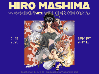 Join Hiro Mashima Session on ANN Connect! (9/15)