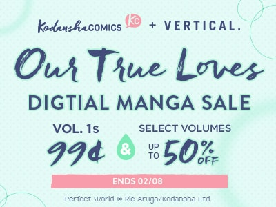 Fill your hearts during the Our True Loves Digital Manga Sale (Ends 02/08)