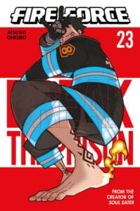 Cover for Fire Force, 23