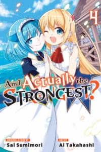 cover for Am I Actually the Strongest?, 4