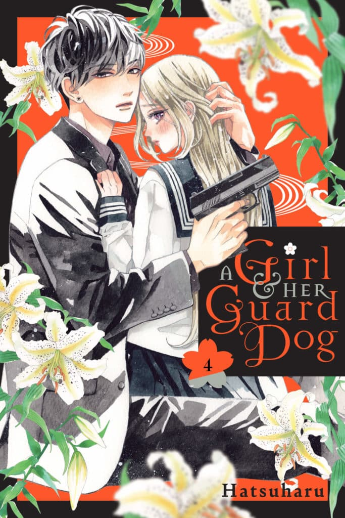 cover for A Girl and Her Guard Dog, 4