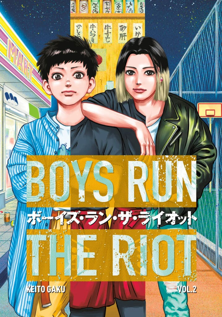 cover for Boys Run the Riot, 2