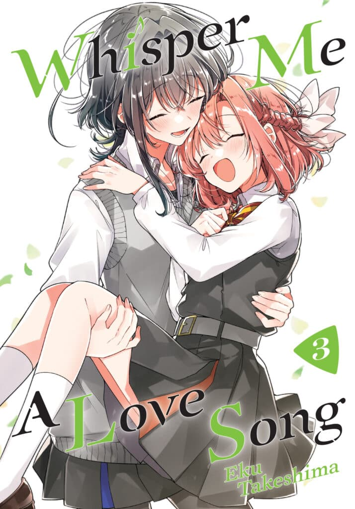 cover for Whisper Me a Love Song, 3