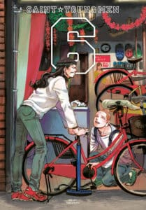 cover for Saint Young Men (hardcover), 6
