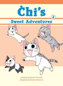 cover for Chi's Sweet Adventures, 4