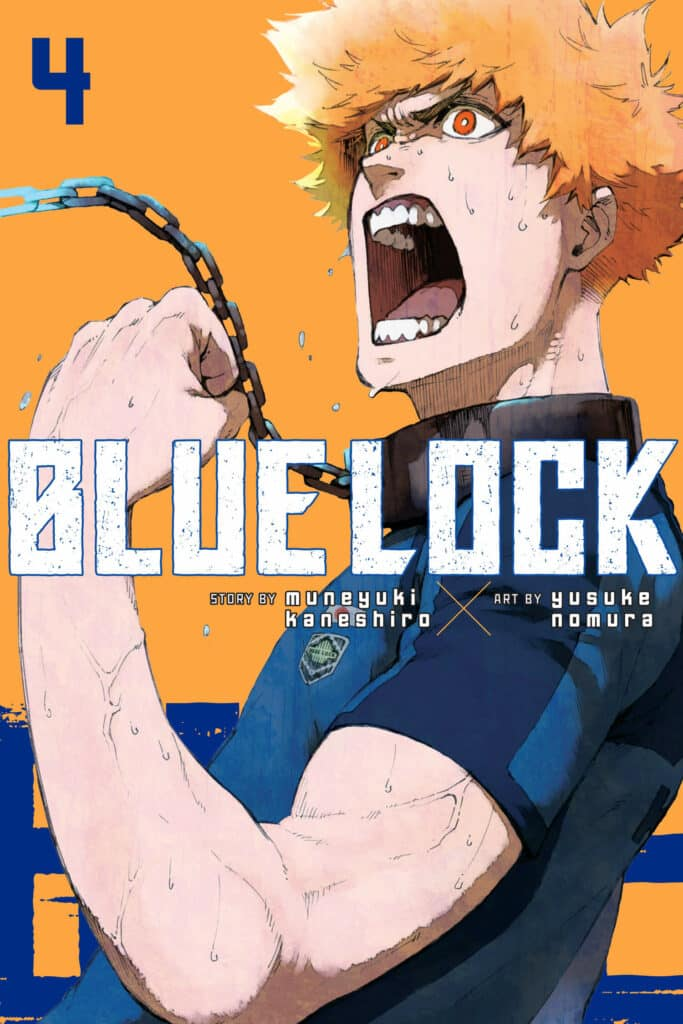 cover for Blue Lock, 4