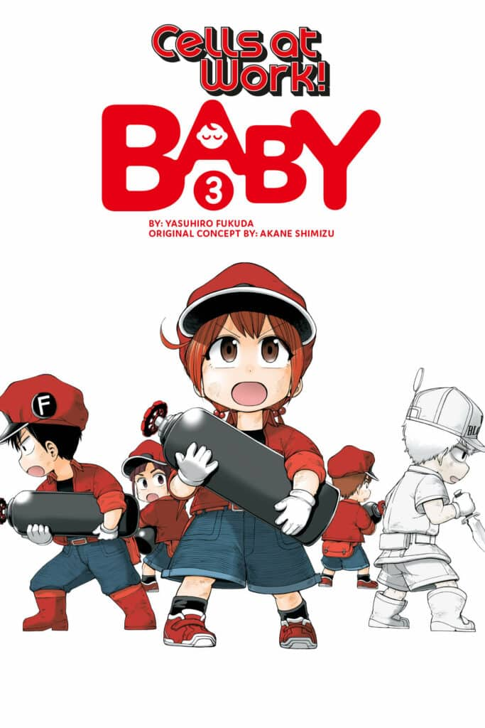 Cover for Cells at Work: Baby!, Volume 3