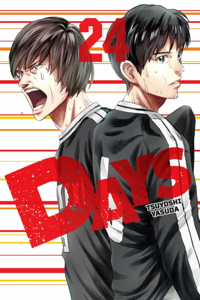 cover for DAYS, 24