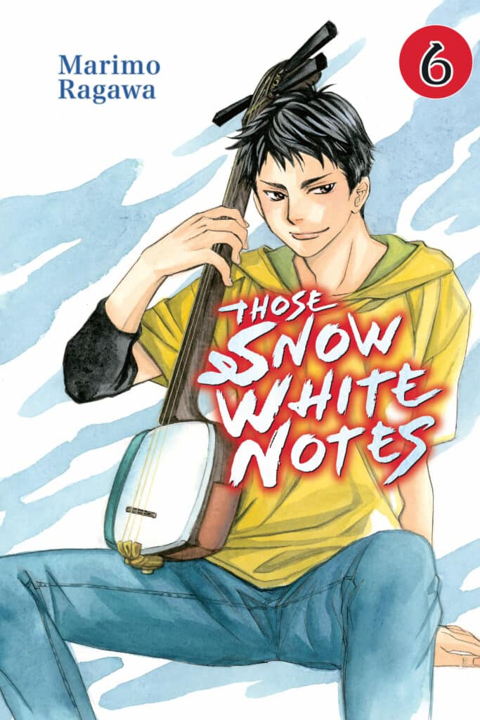 cover for Those Snow White Notes, 6