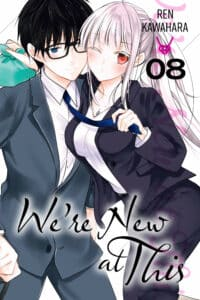 Cover for We're New at This, Volume 8