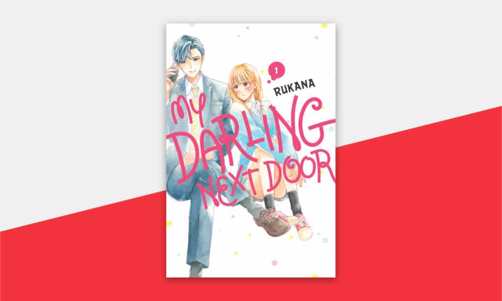 Cover showcase for My Darling Next Door