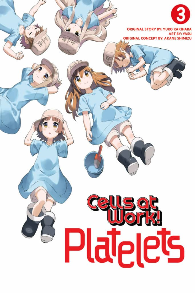 cover for Cells at Work: Platelets!, 3