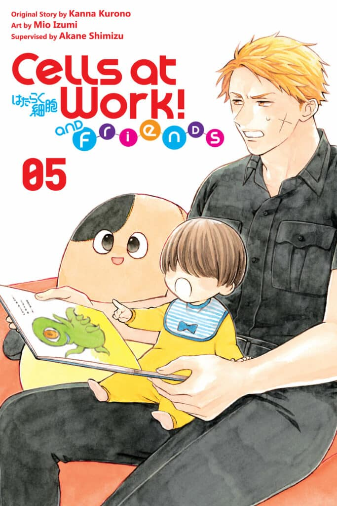cover for Cells at Work and Friends, 5