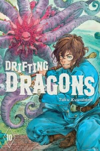 cover for Drifting Dragons, 10