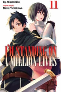 cover for I'm Standing on A Million Lives, 11