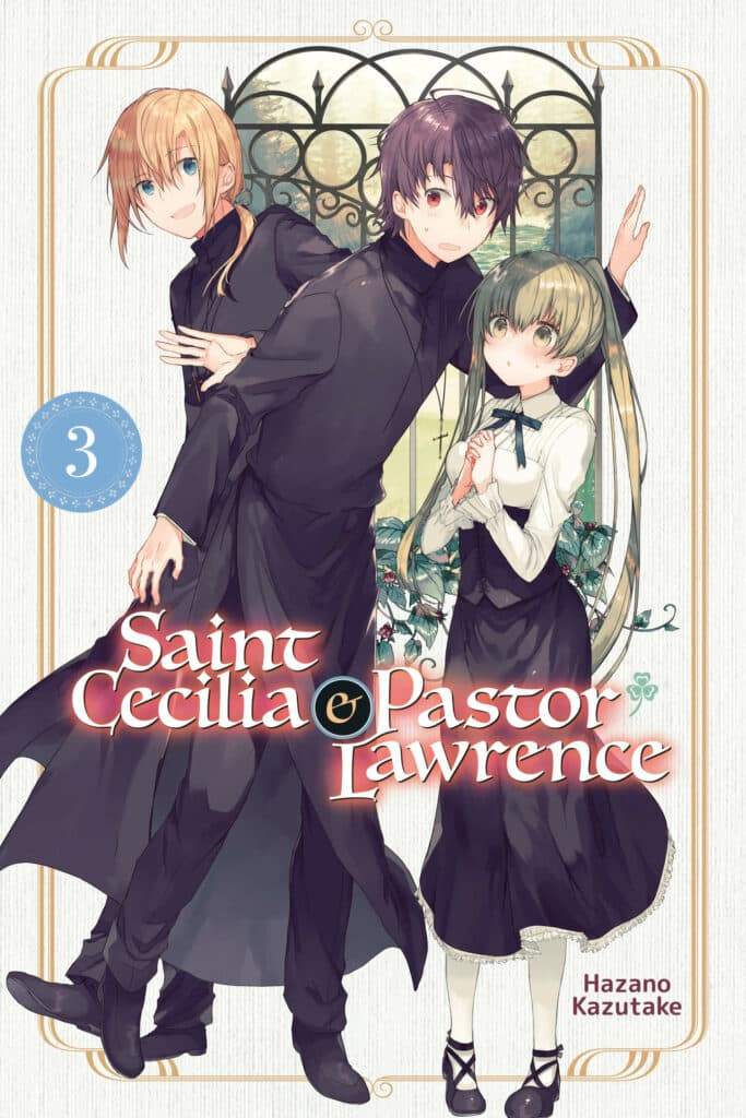 cover for Saint Cecilia and Pastor Lawrence, 3