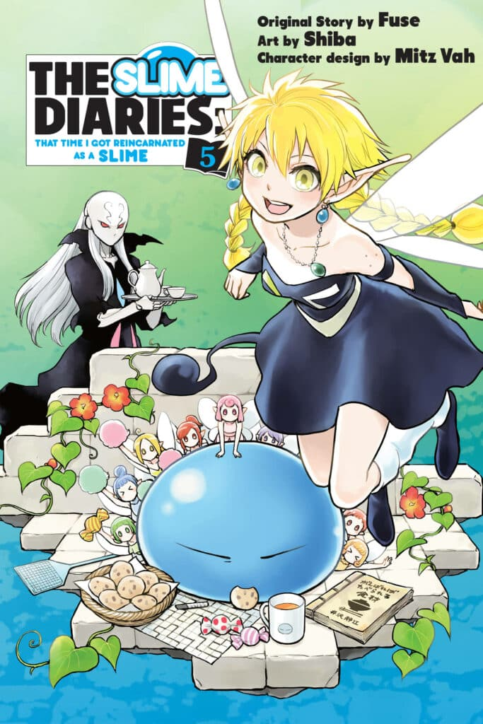 cover for The Slime Diaries: That Time I Got Reincarnated as a Slime, 5