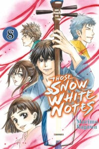 cover for Those Snow White Notes, 8