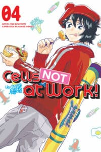 cover for Cells NOT at Work!, 4