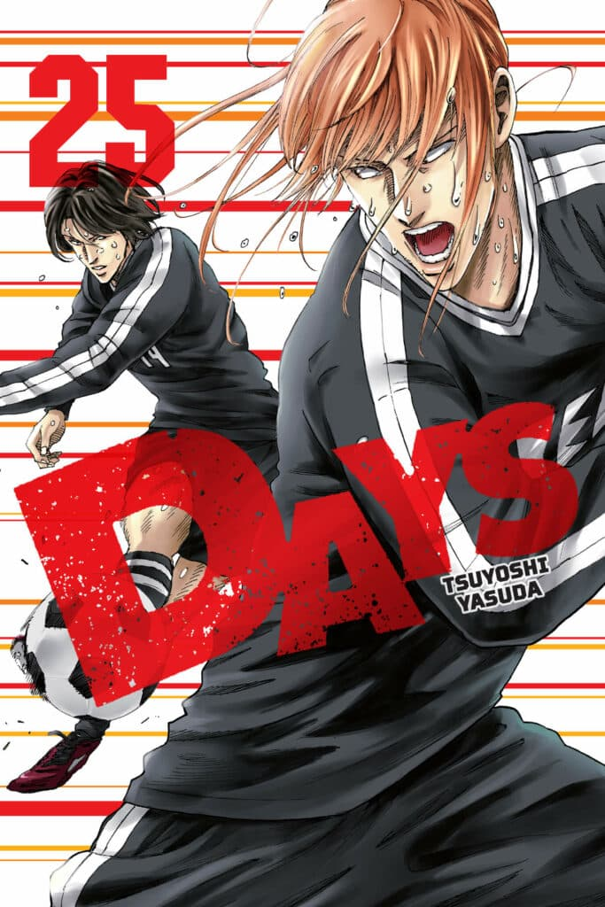 cover for DAYS, 25