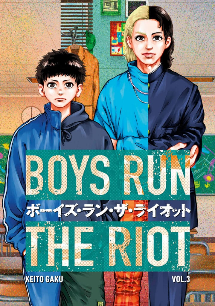 cover for Boys Run the Riot, 3