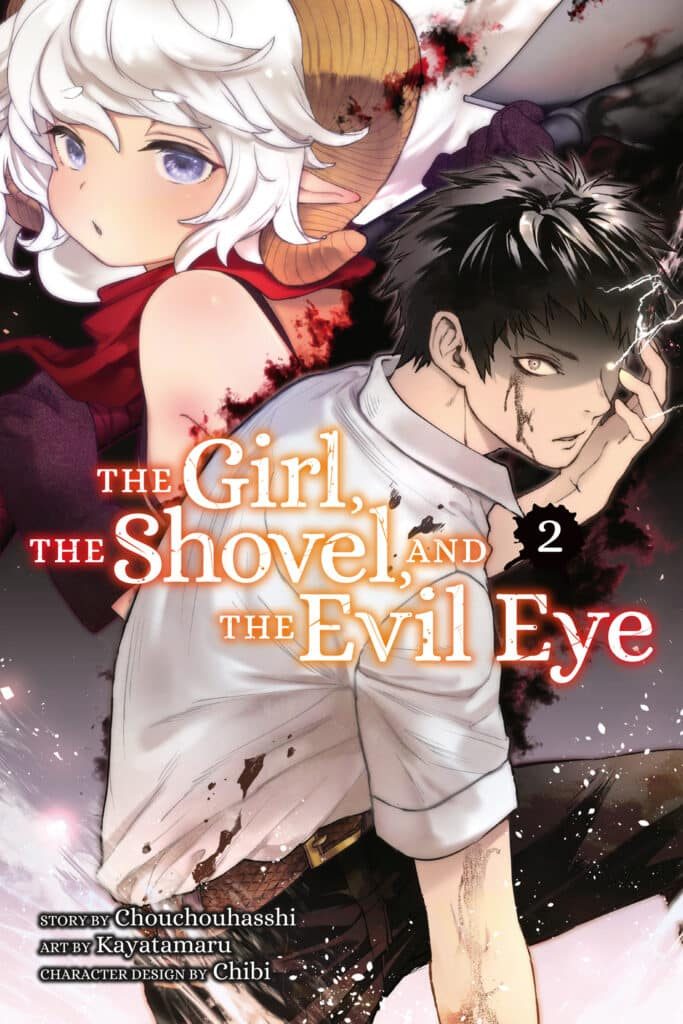 Cover for The Girl, The Shovel and the Evil Eye, Volume 2