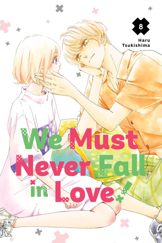 cover for We Must Never Fall in Love, 8