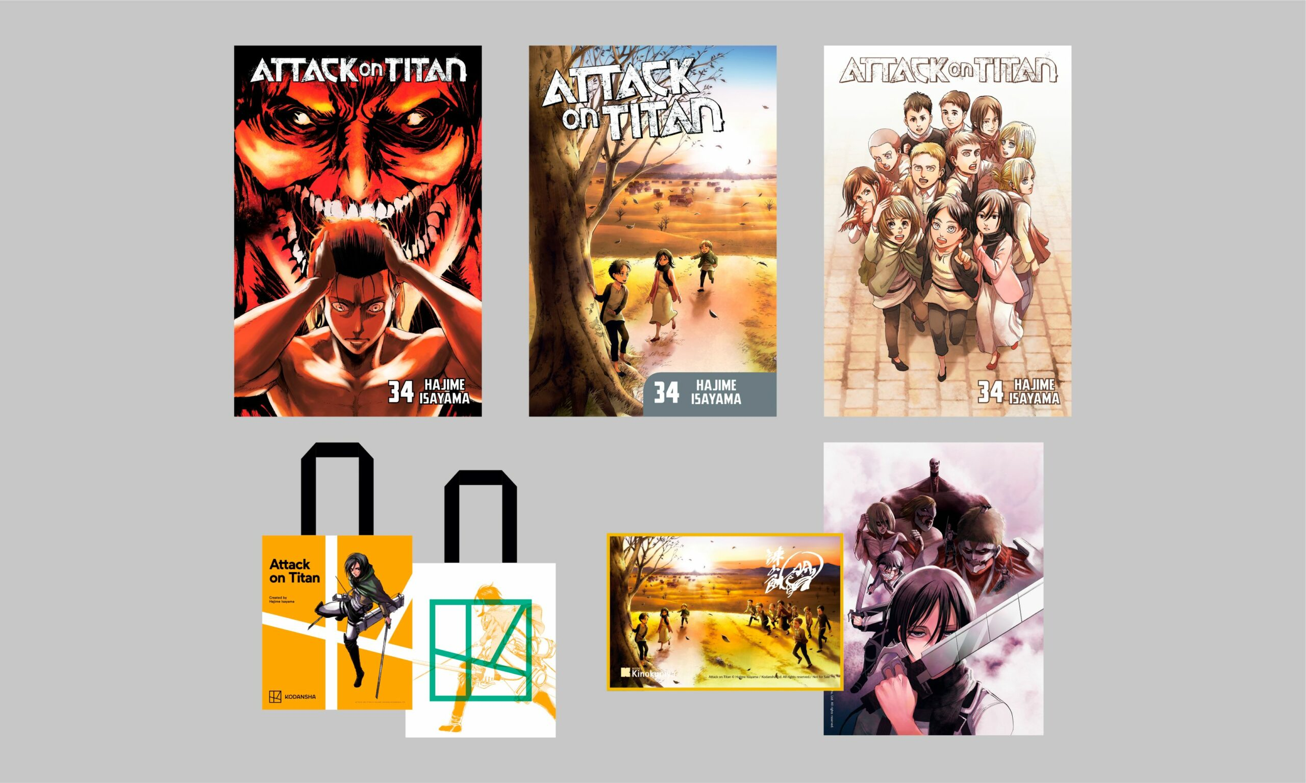 Attack on Titan Finale Exclusives