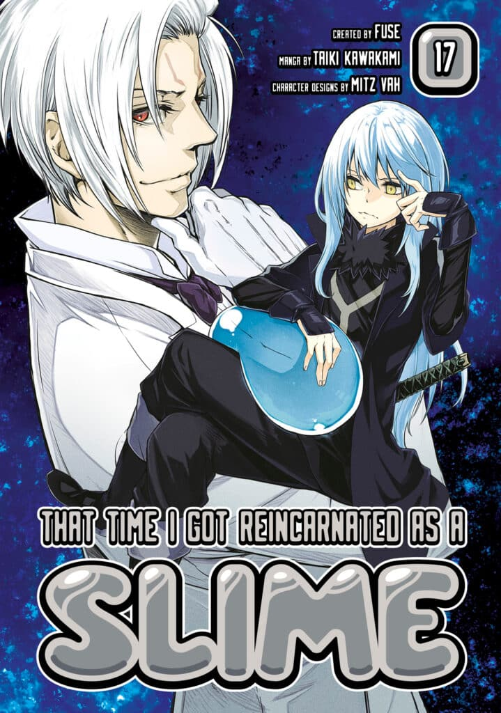 cover for That Time I Got Reincarnated as a Slime, 17