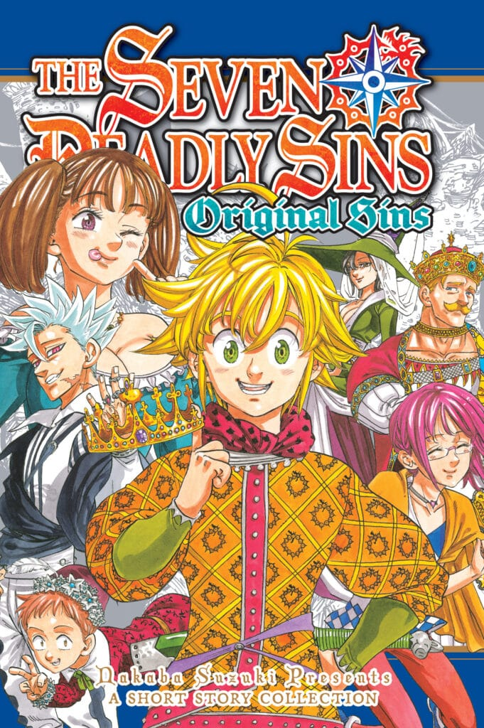 cover for The Seven Deadly Sins: Original Sins Short Story Collection