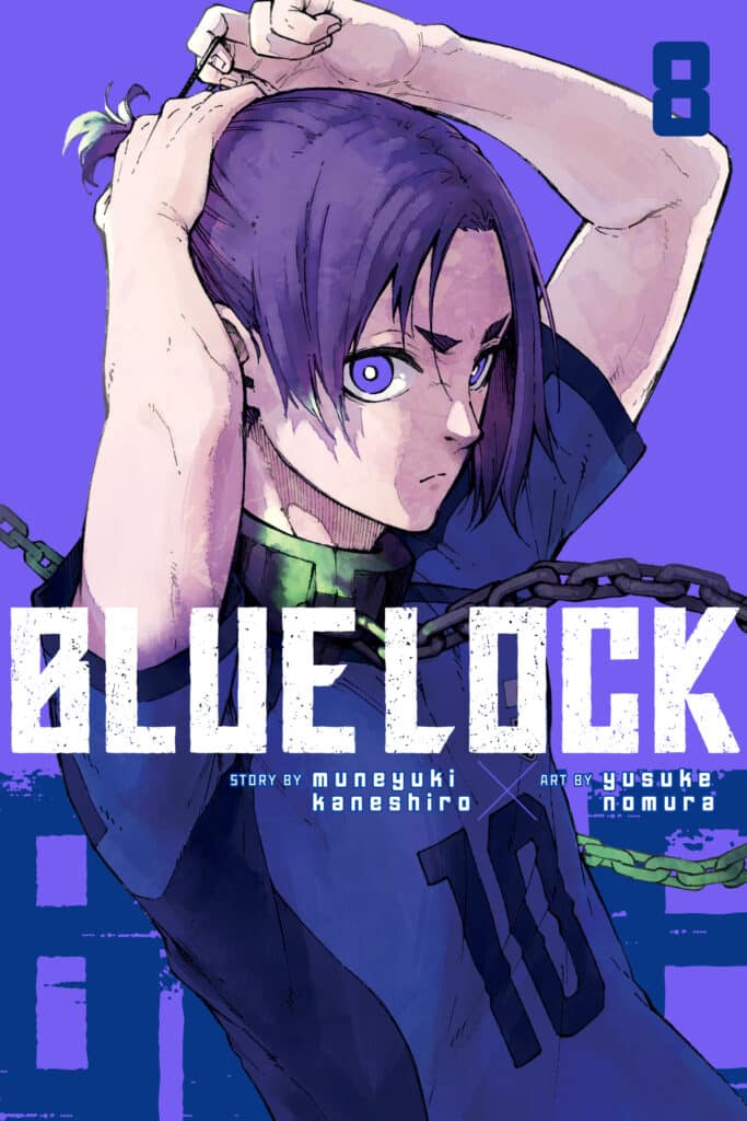 cover for Blue Lock, 8