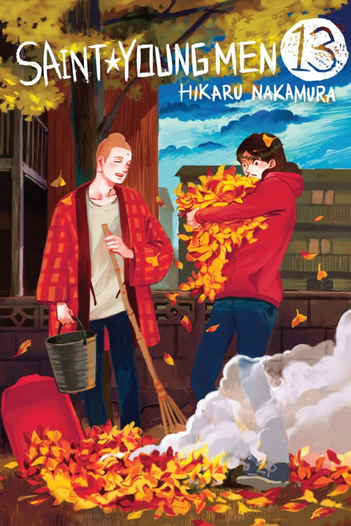 cover for Saint Young Men, 13