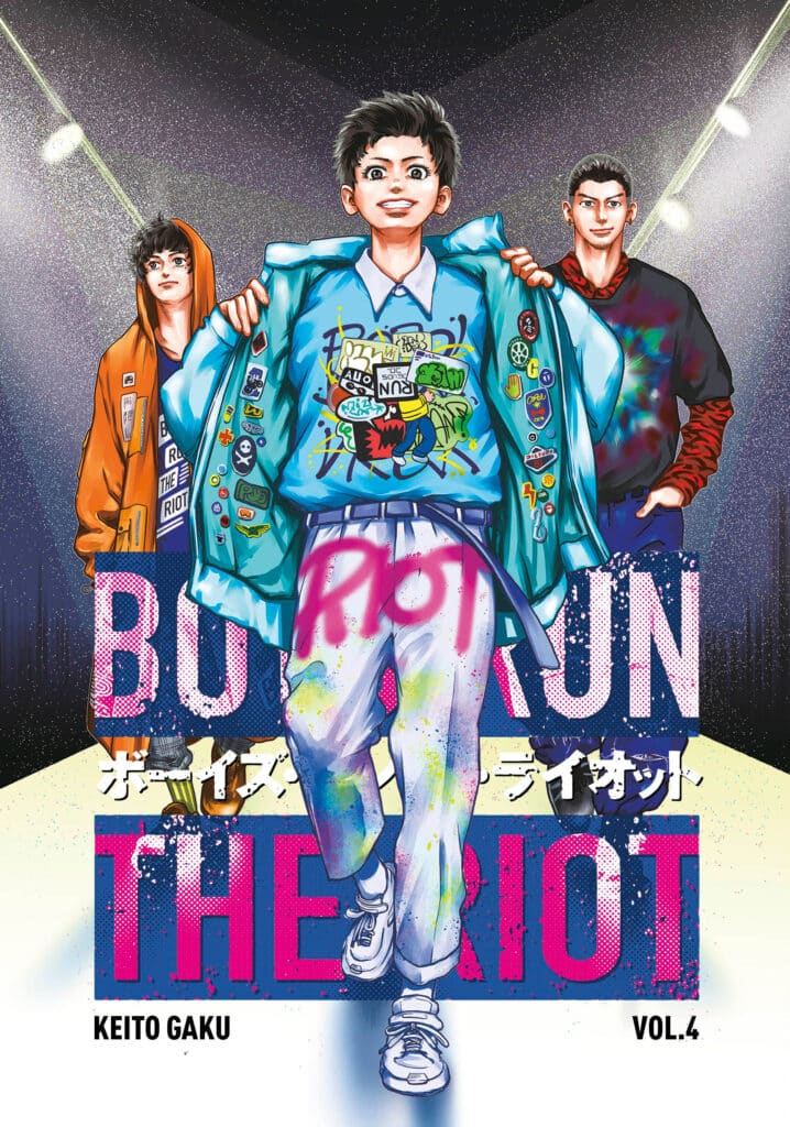 cover for Boys Run the Riot, 4