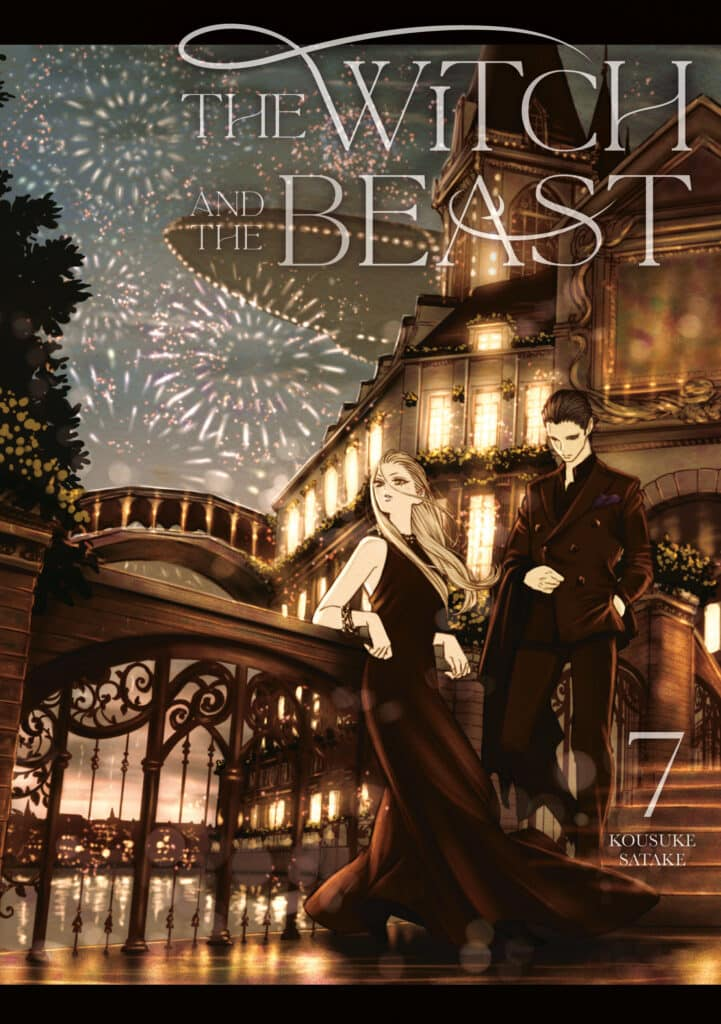 cover for The Witch and the Beast, 7
