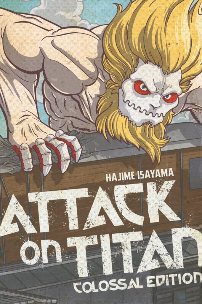 cover for Attack on Titan: Colossal Edition, 6