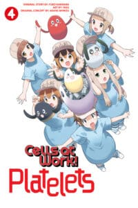 cover for Cells at Work: Platelets!, 4