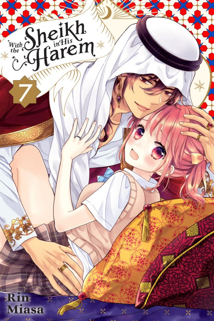 cover for With the Sheikh in His Harem, 7